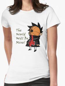 Chibi Tobi Womens Fitted T-Shirt
