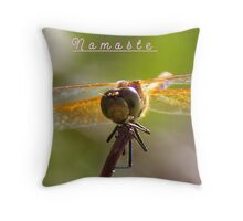 Namaste` Throw Pillow