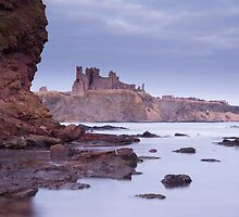 Tantallon Castle view by Christopher Cullen