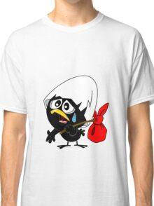 Sad black chicken Classic T-Shirt