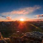 14er Summit Sunset by Reese Ferrier