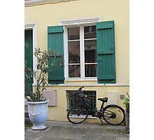 Rural style in the city - Paris, rue Crémieux Photographic Print
