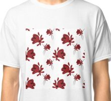 seamless pattern with red poppy Classic T-Shirt