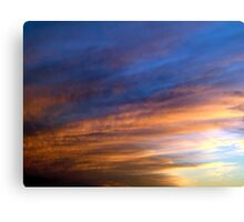 Clouds - 003 Canvas Print