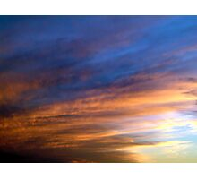 Clouds - 003 Photographic Print