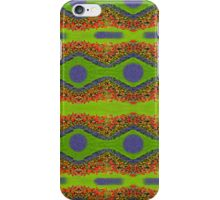 Repeat Pattern From Decorative Garden Bed iPhone Case/Skin