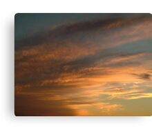 Clouds - 001 Canvas Print