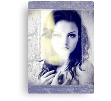 6516 Orchid Goddess and lace Canvas Print