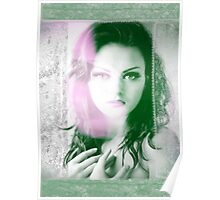 6516g Orchid Goddess and lace Poster