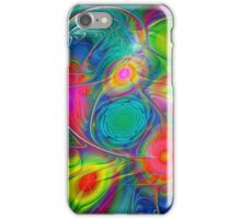 Psychedelic Colors iPhone Case/Skin