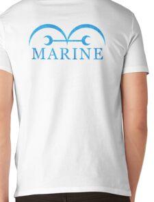 One Piece Marine Logo Mens V-Neck T-Shirt