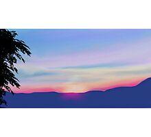 Sunset - Part Deaux Photographic Print