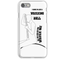 Miley Cyrus: Wrecking Ball iPhone Case/Skin