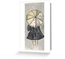 Umbrella Weather Greeting Card