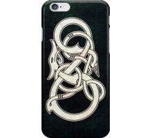Viking Dragon in white iPhone Case/Skin