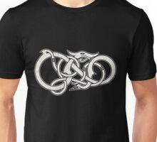 Viking Dragon in white Unisex T-Shirt