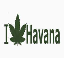 0008 I Love Havana by Ganjastan