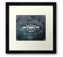 Order of the White Lotus Framed Print