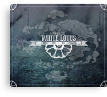 Order of the White Lotus Canvas Print