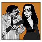 Gomez and Morticia by Matthew Hennen