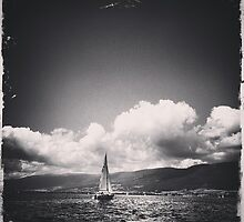 Sailing Boat by Christophe Besson