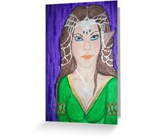 Lady Arwen Greeting Card