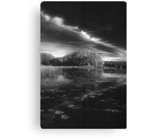 bw lpond Canvas Print