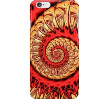 Red Spiral iPhone Case/Skin