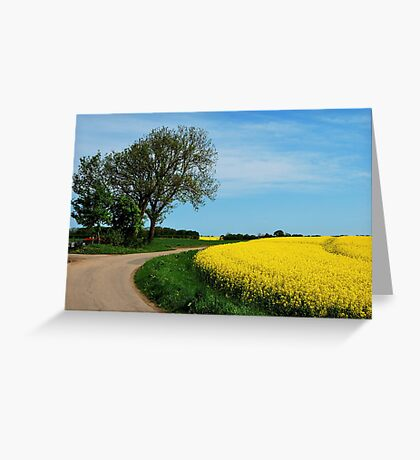 For all who love yellow Greeting Card