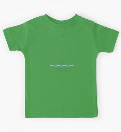 It isn't funny when stickmen drown Kids Tee