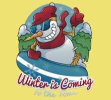 Winter is coming to the town Baby Tee