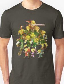Legend of Zelda Link Collage T-Shirt