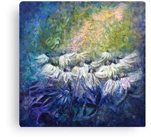 Angels among us... Canvas Print