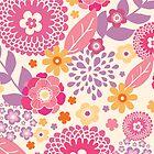 Magical flowers pattern by oksancia