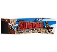 Gunsmoke Arcade Poster
