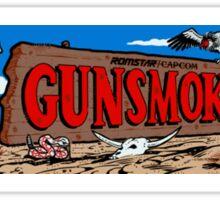 Gunsmoke Arcade Sticker