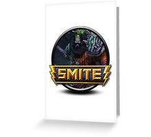Smite Zhong Kui Logo Greeting Card