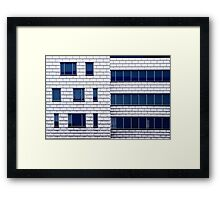 Philly Stories - Puzzle Pieces Framed Print