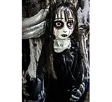 Goth Girl Photographic Print