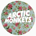 Arctic Monkeys floral logo by danerys