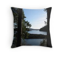 Secret Cove, BC Throw Pillow