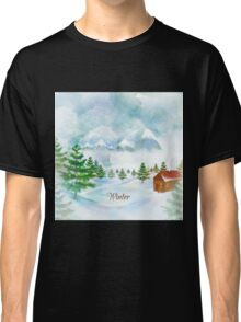 Winter Christmas & New Year Classic T-Shirt