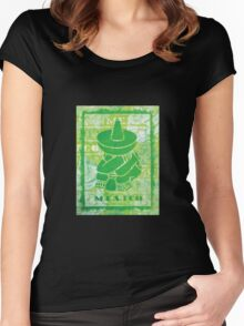 Mexico (Green) Women's Fitted Scoop T-Shirt