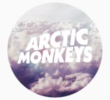 Arctic Monkeys cloud logo by danerys