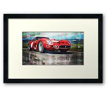 Ferrari 330 GTO 1962 Framed Print