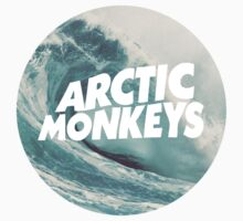 Arctic Monkeys wave logo by danerys