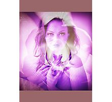 6530v Orchid Goddess Photographic Print