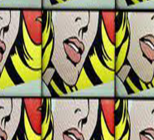 Comic Lips Sticker