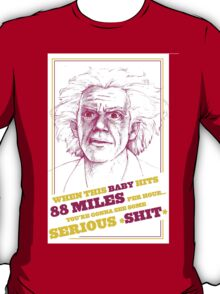 BACK TO THE FUTURE- DOC BROWN T-Shirt