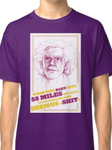 BACK TO THE FUTURE- DOC BROWN Classic T-Shirt